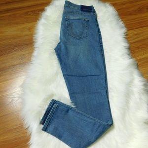 True Religion Halle Midrise Skinny Jeans